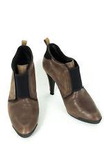 TOD'S Schuhe Gr. DE 37,5=UK 4,5 ECHTES LEDER Ankle Boots Stiletto High Heels
