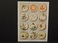 French, France, Porcelain, Dishes, Crystal, Faience, Paris, Catalog Page, !C1#24