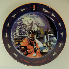 NASA Space Astronaut Plate Kennedy Ceramic Dish STS-95