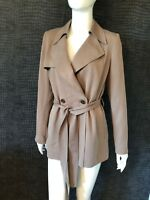WORN ONCE - REISS SEVENTY - ONE MINK COAT  SMALL