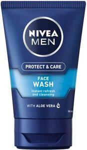 Nivea Men Deep Cleaning Face Wash 100ml with Aloe Vera
