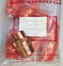 10  Bernard ™ Welding Model 36-75 High Temp Nozzle Cone Series MIG Guns Made USA