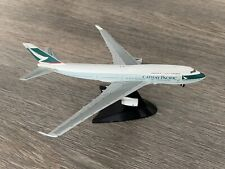 L&D🇫🇷 maquette avion Cathay Pacific Airlines maquette agence 380 Grammes Herpa