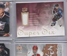 2005-06 Ultra Super Six Jerseys #SSJJS Joe Sakic Colorado Avalanche
