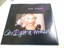 """SAM BROWN - CAN I GET A WITNESS - 7"""" SINGLE - PICTURE SLEEVE"""