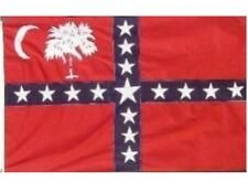 South Carolina Sovereignty Flag CSA Civil War 3x5 ft Sewn Applique Outdoor Nylon