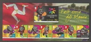 """""""TOSHA THE MANX CAT"""" 2011 ISLE OF MAN MINT STAMPS - MAY SUIT IoM COIN COLLECTOR"""