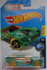 2016 Hot Wheels X-RAYCERS 5/10 Bullet Proof 15/250 (Clear Green)(Int. Card)