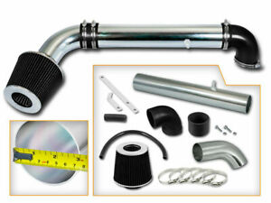 AIR INTAKE KIT+BLACK Filter For 97-06 Wrangler TJ 4.0L SE X Sport Rubicon Sahara