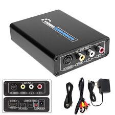 HDMI to 3RCA AV CVBS Composite & S-Video R/L Audio Converter Adapter Downscaler