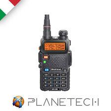 RICETRASMITTENTE BAOFENG UV-5R VHF/UHF DUAL BAND PMR RADIO 136-174 400-520 Mhz