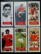 GEORGE BEST - Manchester United - Group of 6 Score UK football trade cards