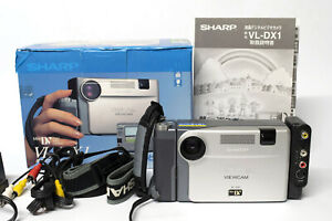 Sharp digital viewcam VL-DX1 fully working and boxed from 1996