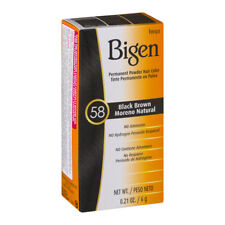 Bigen Permanent Powder Hair Black Brown 58