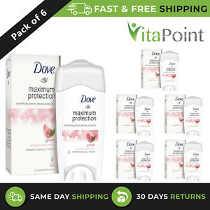 DOVE MAXIMUM PROTECTION ANTIPERSPIRANT CREAM , 45ml / PACK OF 6
