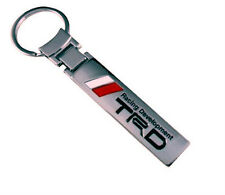TRD Racing Development Key chain Keyring Chrome Toyota Mr2 Celica Supra Starlet