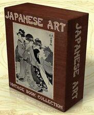 JAPANESE ART 65 Rare Vintage Books on DVD Japan Oriental Arts, Ukiyo-e, Hokusai