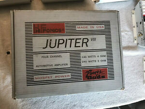 Hifonics VIII Jupiter with box