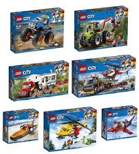 LEGO® CITY COLLECTION 7tlg.60177 - 60178 - 60179 - 60180 - 60181 - 60182 - 60183