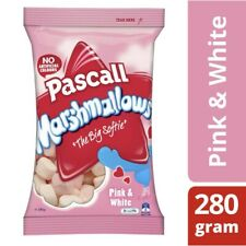Pascall Marshmallows Pink and White Lollies 280g