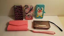 Lot of Five Unique iPhone 4 Cases