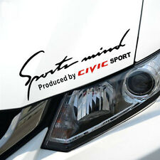 Sports Mind Produced by CIVIC Sticker Car Trunk Light Eyebrows For Honda Civic