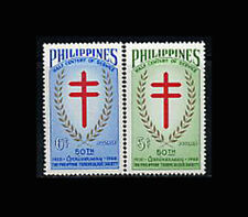 PHILIPPINES, Sc #819-20, MNH, 1960, Tuberculosis, Medical, A1GDcx