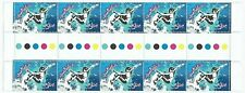 2006 AUSTRALIA 'EXTREME SPORTS - SURFING' GUTTER STRIP of 10 x 50c MNH STAMPS
