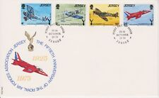 Unaddressed Jersey FDC First Day Cover 1975 Royal Air Force Set 10% off 5