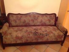 Antico divano letto fine '800