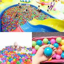 400 pcs Baby Kid Pit Toy Game Swim Soft Plastic Ocean Ball Quality Secure 5.5cm