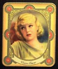 Claire Trevor 1934 Garbaty Film Star Series 2 Embossed Cigarette Card #113