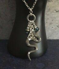"Harry Potter Deathly Hallows Horcrux Pendant Necklace 24"""