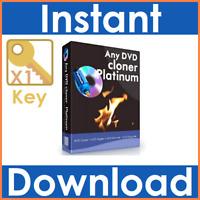 Any DVD/CD Clone/Cloner Platinum Edition Rip/Ripper Latest Full Version Inc Code