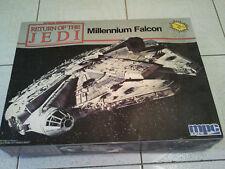STAR WARS RETURN OF THE JEDI MILLENIUM FALCON MODEL KIT MPC 1989 USA NEW SEALED