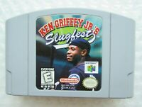 Ken Griffey JR Slugfest Nintendo 64 N64 Authentic OEM Video Game Cart MLB GREAT!