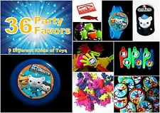Octonauts- 36 Party Favors Combo-Toys Birthday Prizes Pinata loot pack  Filler
