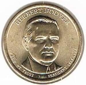 Amerika dollar 2014 D Unc - Herbert Hoover
