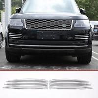 Land rover Range Rover Vogue 2018 Chrome Front Fog Light Grille Cover Trim set