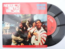 "New Kids On The Block Hangin Tough 7"" CBS BLOCK1 EX/EX 1989 picture sleeve, Hang"