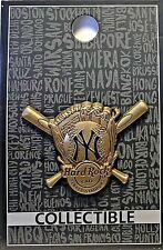 Hard Rock Cafe Yankee Stadium Core 3D Baseball Glove 2017 Pin New LE New York