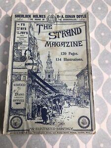 The Strand Magazine August 1901 A. Conan Doyle Sherlock Holmes Baskervilles 1&2