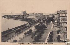 Civitavecchia Viale Garibaldi visto dalla Stazione (2) f.p.