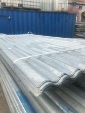 8ft / 2.4m Galvanised Metal Corrugated Roofing Sheet Cladding Cover