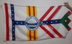 USA Florida Tampa City Flag
