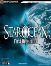 STAR OCEAN FIRST DEPARTURE OFFICIAL STRATEGY GUIDE Bradygames BRAND NEW PSP RARE