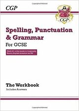 Spelling, Punctuation and Grammar for GCSE, Workbook New Paperback Book CGP Book