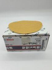 Bosch C470 115mm P180 Schleifscheiben Schleifpapier Klett 50 Blätter,.