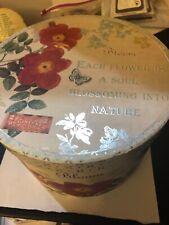 Bloom Round Hat Box