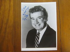 REGIS PHILBIN  (Live with Regis and Kelly)  Signed   B & W  Glossy 7 x 10  Photo